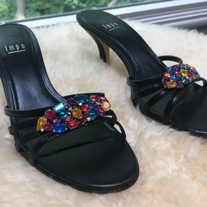 NEW Colourful Bling Heels
